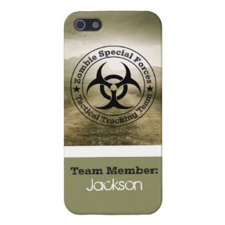 Zombie Tracking Team iPhone SE/5/5s Cover