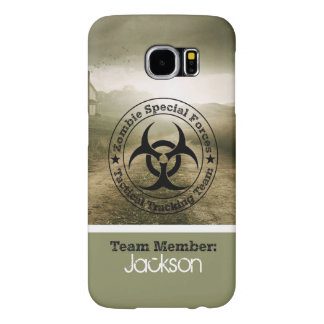 Zombie Tracking Team Samsung Galaxy S6 Case