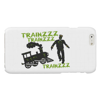 Zombie Train Conductor Glossy iPhone 6 Case