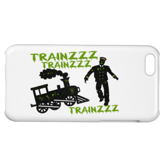 Zombie Train Conductor iPhone 5C Cases