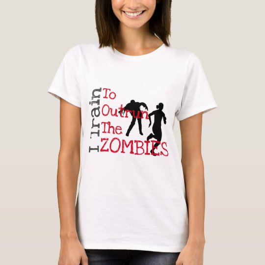 Zombie Training (red) T-Shirt