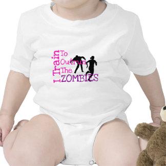 Zombie Training Baby Bodysuits