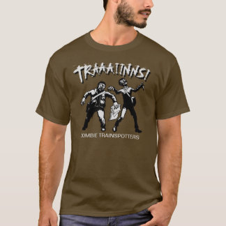 Zombie Trainspotters Dark TShirt