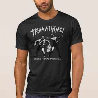 Zombie Trainspotters Destroyed TShirt