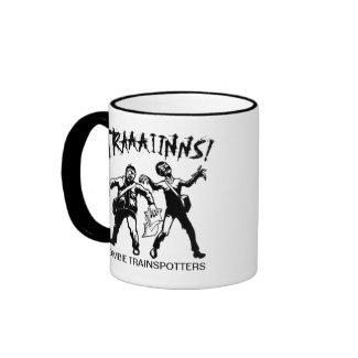Zombie Trainspotters Mug mug