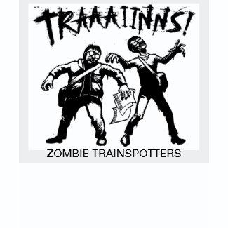 Zombie Trainspotters shirt