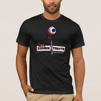 Zombie Treats 1 T-shirts and Hoodies