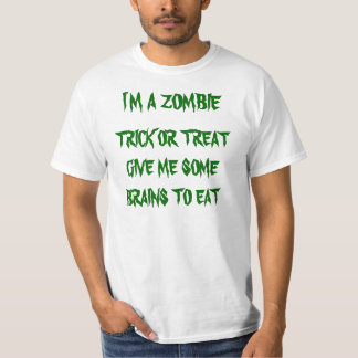 ZOMBIE TRICK OR TREAT T-Shirt