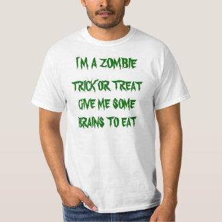 ZOMBIE TRICK OR TREAT TEE SHIRT