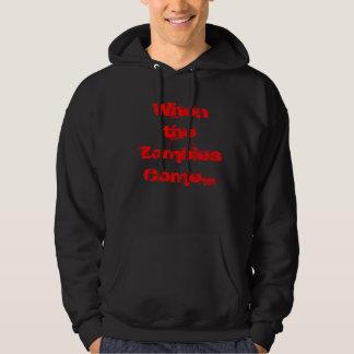 Zombie trip hoodie