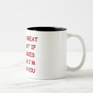 Zombie Trip Two-Tone Coffee Mug