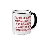 Zombie Trip Ringer Coffee Mug