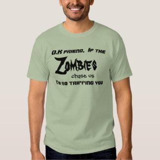 Zombie Tripping you T-shirt