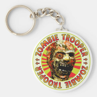 Zombie Trooper Keychain