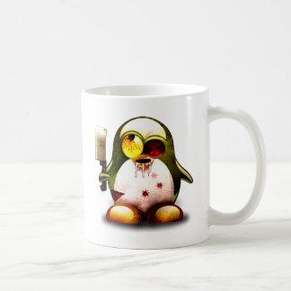 Zombie Tux (Linux Tux) Classic White Coffee Mug