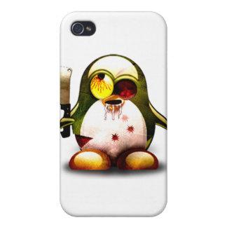 Zombie Tux (Linux Tux) iPhone 4 Case