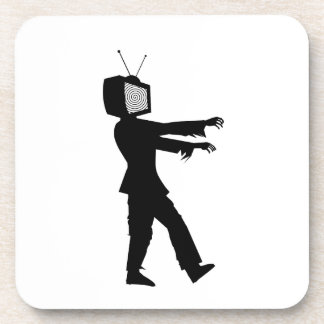 Zombie TV Coaster
