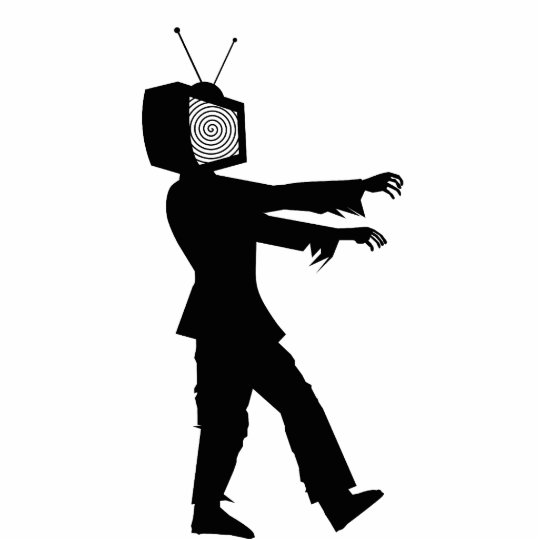 Zombie TV Cutout