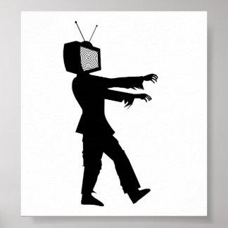 Zombie TV Poster