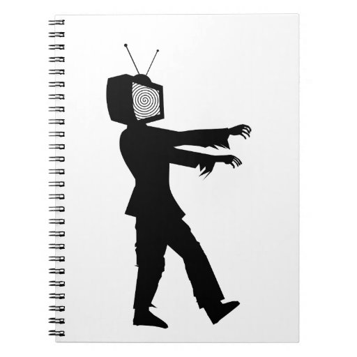 Zombie TV Spiral Note Books