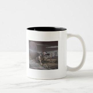 Zombie Two-Tone Coffee Mug