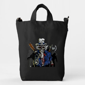 Zombie Uncle Sam Duck Bag