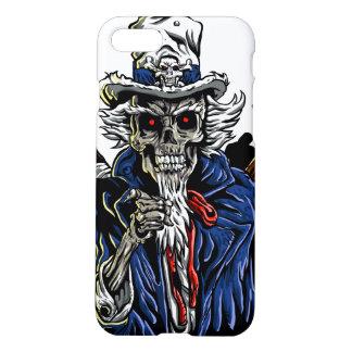 Zombie Uncle Sam iPhone 7 Case