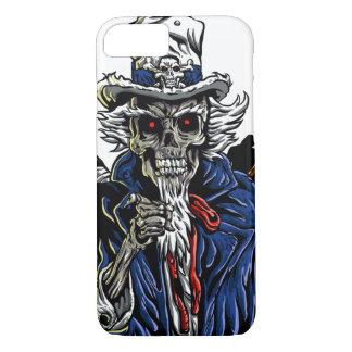 Zombie Uncle Sam iPhone 8/7 Case