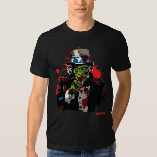 Zombie Uncle Sam Shirt by Zombie House