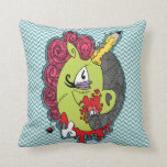 Zombie Unicorn Pillow
