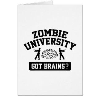 Zombie University Card