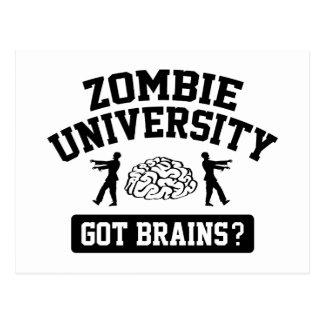 Zombie University Postcard