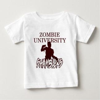 Zombie University Shamblers - Blood Red Baby T-Shirt