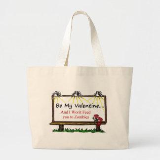 Zombie Valentine Canvas Bag