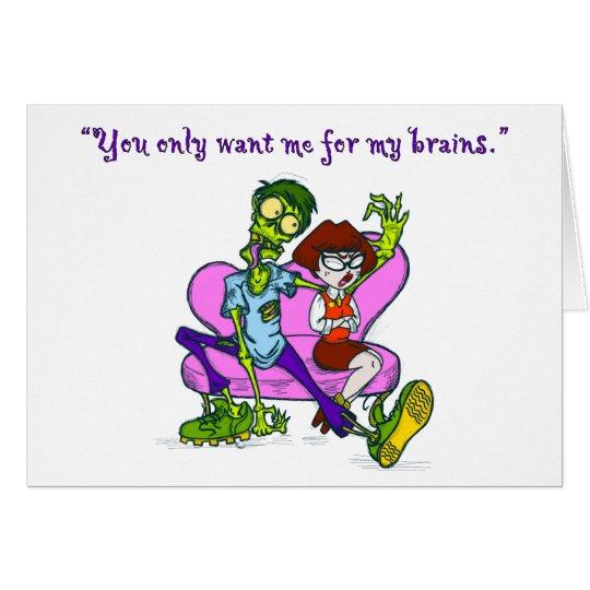 Zombie Valentine Card