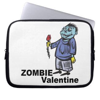 Zombie Valentine Laptop Sleeves
