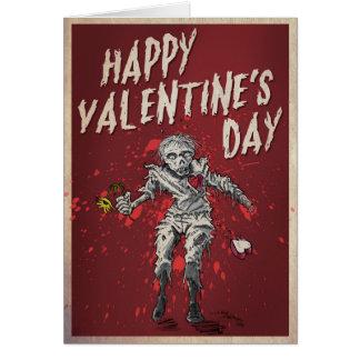 Zombie Valentineu0026#39;s Day Humor Card