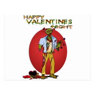 Zombie Valentines Post Card