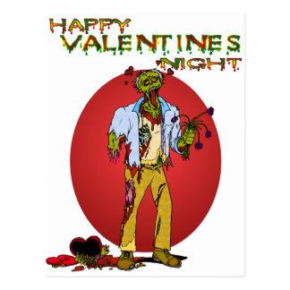 Zombie Valentines Post Cards