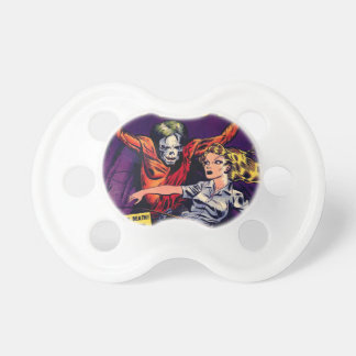 Zombie - Vintage Horror Comic Baby Pacifier