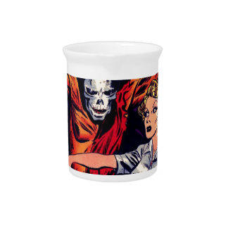 Zombie - Vintage Horror Comic Drink Pitcher