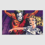 Zombie - Vintage Horror Comic Rectangular Sticker