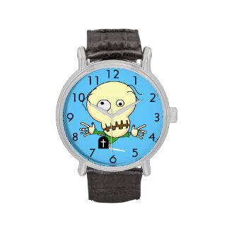 Zombie Vintage Leather Strap Watch