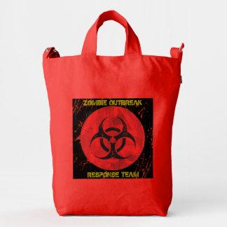 """Zombie Virus Outbreak Hunter """"Go Bag"""" Duck Bag"""