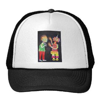 Zombie VS Robot art Trucker Hat
