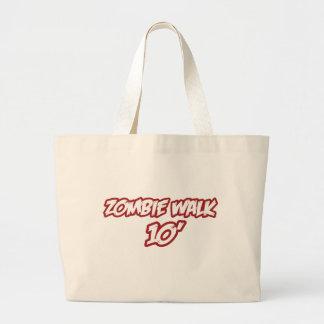 Zombie Walk 10' Canvas Bags