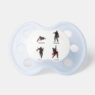 zombie walker crawler baby pacifiers