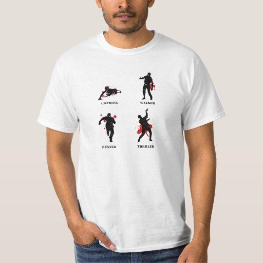 zombie walker crawler T-Shirt