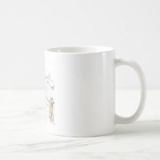 Zombie Walking Dog Coffee Mug