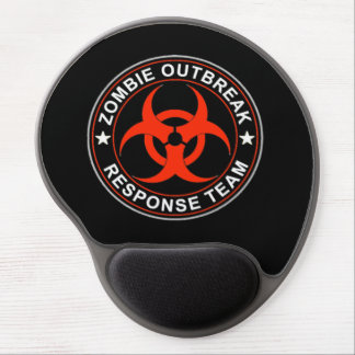 ZOMBIE WALKING RESPONSE TEAM MOUSE PAD DEAD BIO GEL MOUSE PAD
